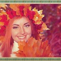 Осенний веночек :: Лидия (naum.lidiya)