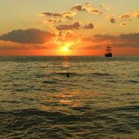 Доплыть до солнца :: nika555nika Ирина