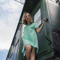И вот я с поезда схожу :: Дима Пискунов