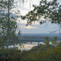 Вечер на реке белой :: Сергей Тагиров