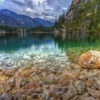 Прекрасное озеро Брайес :: михаил