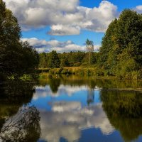 Река и небо :: Александр