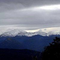 Горные вершины. :: Маргарита ( Марта ) Дрожжина