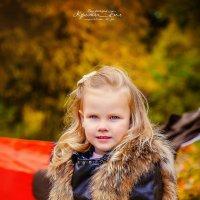 Очаровательная Варюша и золотая осень :: Кристина Беляева