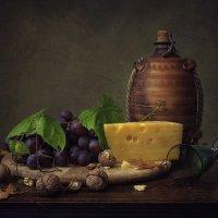 Про сыр, виноград и вино :: Ирина Приходько