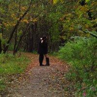 Двое, осень и папарацци :: Андрей Лукьянов