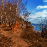 Осень. Картина маслом. :: Андрей Борисенко