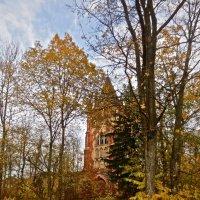 башня Шапель в Царском Селе осенью :: Елена