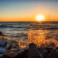 Рассвет над Таманским полуостровом :: Ольга