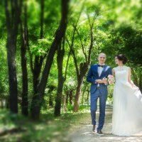 Вадим и Эльвира свадьба :: Александра Капылова