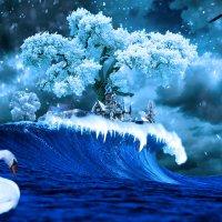 Зима на острове Буяне :: Андрей Щетинин
