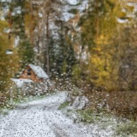 первый снег. вспоминая Jacob Abraham Camille Pissarro :: Дмитрий Карышев