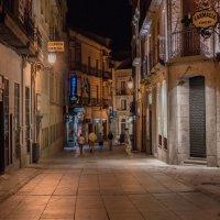 Ночная улица Сан-Себастьяна :: Dimirtyi