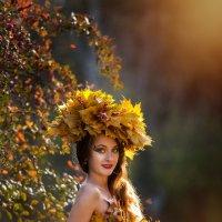 Девушка-Осень :: Анна Миронова