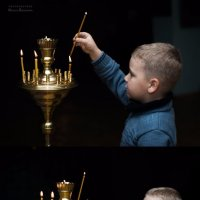 В церкви :: Оксана Романова