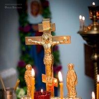 Церковь,Свечи. :: Оксана Романова