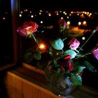 Серенада ночи для любимых роз... :: Татьяна