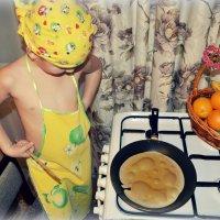 Выпекаем блинчики))))))))))))))) :: Ирина Жеребятьева
