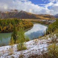 Рассвет у реки :: Алексей Писарев