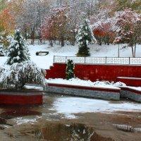 Фотопроект Снежные фонтаны :: Наталья Золотых-Сибирская