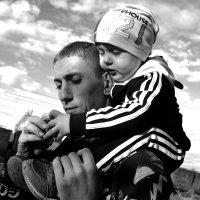 Папа и сын :: Татьяна Латкина