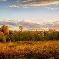 Вечер в деревне... :: Александр Никитинский