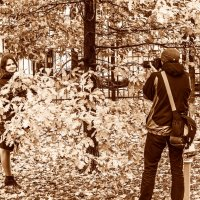 Осень - лучшее время для фотосессий! :: Владимир Безбородов
