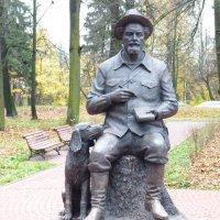 Памятник Пришвину в Сергиеве Посаде :: Galina Leskova