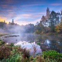 Утро на реке Киржач :: Колобаев Сергей