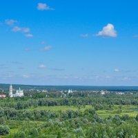 На горизонте город Елабуга :: Сергей Тагиров