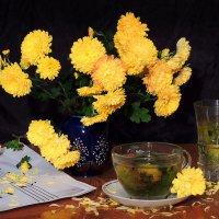 Чай из цветков хризантемы. :: Павлова Татьяна Павлова