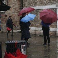 Забытый зонт... :: Людмила Синицына