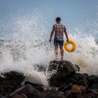 Любитель волн :: Artem Zelenyuk
