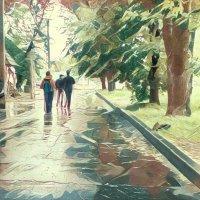 Воспоминание о летнем дожде :: Ирина Сивовол