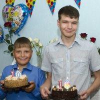 один день рождения на двоих! :: Ольга Русакова