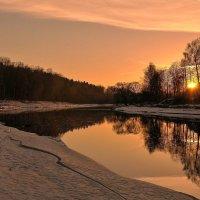 река Руза зимой :: Андрей Куприянов