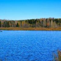 Осенняя рыбалка с лодок :: Милешкин Владимир Алексеевич
