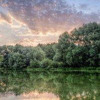 река..утро..облака.. :: юрий иванов