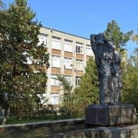 Скульптура около школы :: Татьяна Смоляниченко