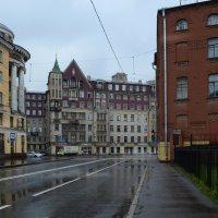 Мокрый город :: Наталья Левина