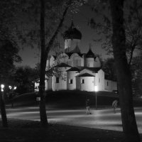 Церковь Василия на горке. Вечер. :: Светлана Агапова
