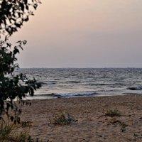 Вечереет на море Азовскомю :: владимир