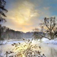 Закат поздней осени.... :: Андрей Войцехов