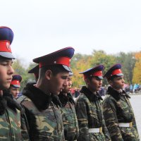 Казаки на параде :: Юрий Гайворонский