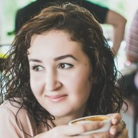кофе- мой друг... :: Svetlana SSD Zhelezkina