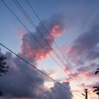 закат над Богушевкой :: Антонина Владимировна Завальнюк