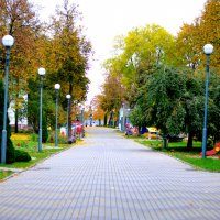 Детский парк осенью :: Марина Романова