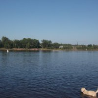 Река и лето :: Svetlana Lyaxovich