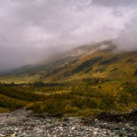 Софийская долина. Вид сверху. :: Скан