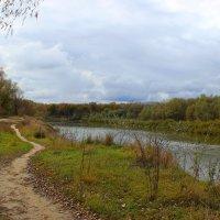 по тропинке, вдоль реки... :: Владимир Суязов